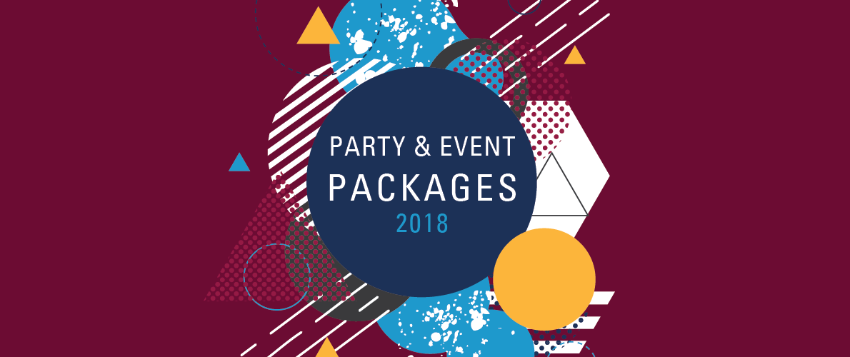 party and event packages for 2017